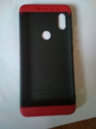 Funda, Carcasa , Xiaomi Redmi S2 Rojo y negra