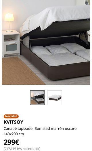 Que Es Mejor Canape O Somier.Canape Ikea De Segunda Mano En Wallapop