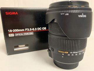 f6570084b1 Objetivo Sigma 18-200 de segunda mano en WALLAPOP
