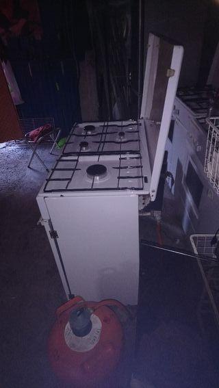 sevende cocinas de gas Butáno funcionan perfecto