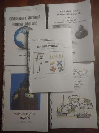folletos pruebas libres 4 de la eso