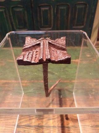 Clavo gotico XV hierro forja