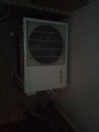 instalador de aire acondicionado con 20 años de ex