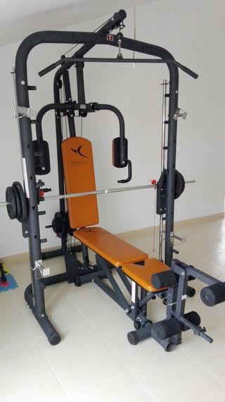Máquina de musculación multifuncional