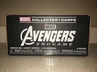 caja marvel collector corps endgame