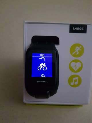 Reloj GPS tomtom runner 2 cardio+music