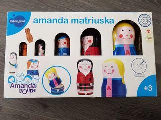 Muñecas Amanda Matriuska Itsmagical