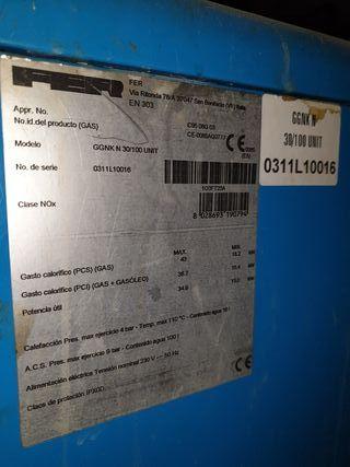Caldera Fer y depósito de gasoil, radiadores apart