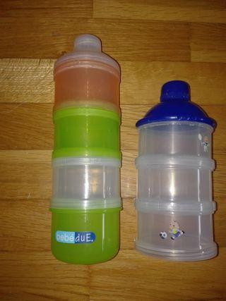 Dispensadores papilla leche bebé