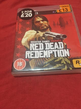 Read Dead Redeption PS3