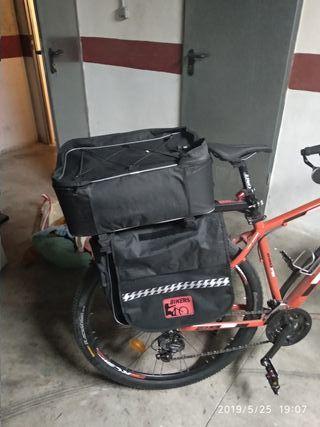 alforjas bicicleta