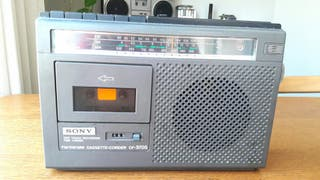 Antiguo Radio Casette Sony portatil