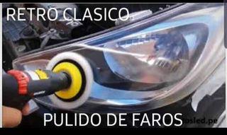 #RETRO CLASICO PULIDO DE FAROS#