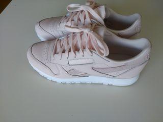 Zapatillas reebook color rosa clarito, 38