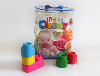 Bloques blandos de construcción Baby Clemmy