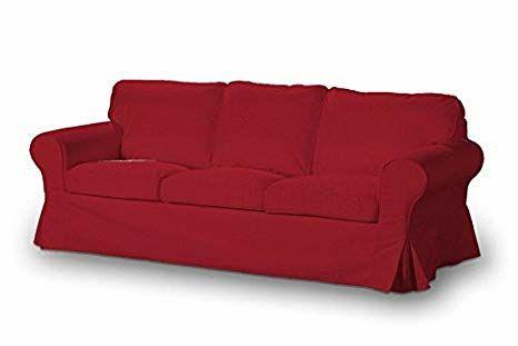 Sofá cama Ikea Ektorp 3 plazas rojo