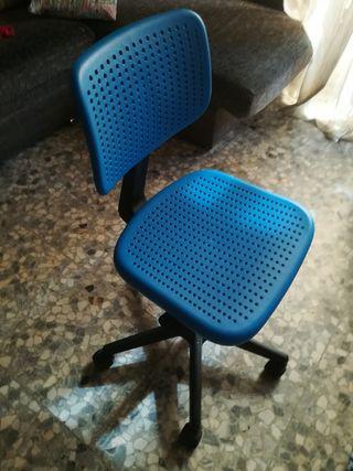 silla escritorio/oficina con ruedas