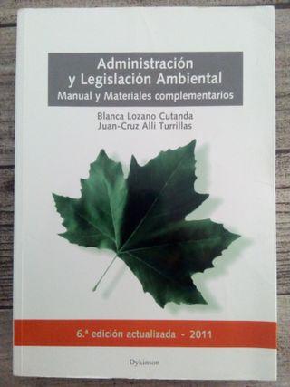 Libro UNED Legislación Ambiental