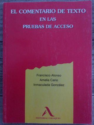 Libro UNED prueba de acceso