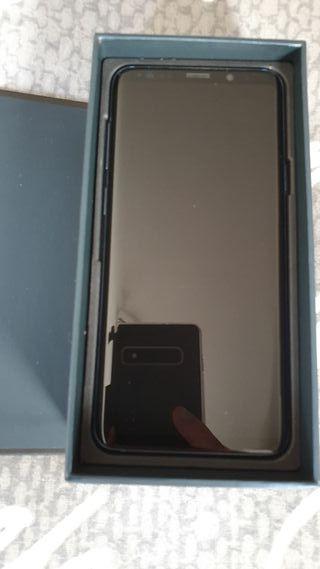 Samsung Galaxy s9 plus azul