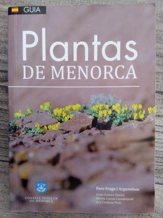 Libro Plantas de Menorca