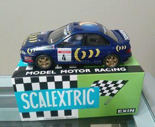 Subaru Impreza WRC98 McRae Scalextric NUEVO