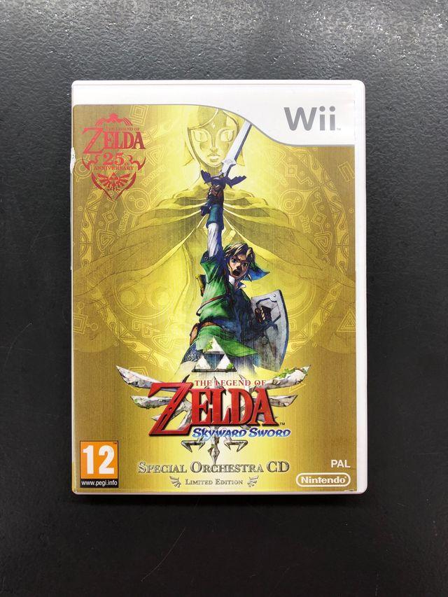 Zelda Skyward Sword Wii