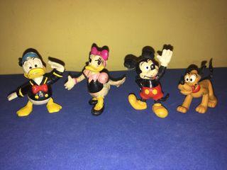 Antiguas figuras de goma de Eura Spain. Disney