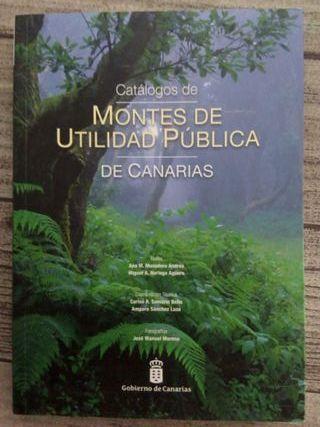 Libro Montes de Canarias