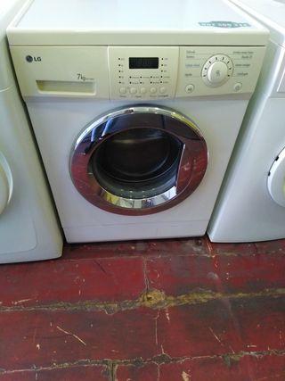lavadora LG 7 kilos
