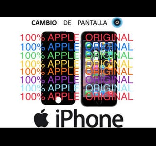 CAMBIO PANTALLAS IPHONE (ORIGINALES APPLE)