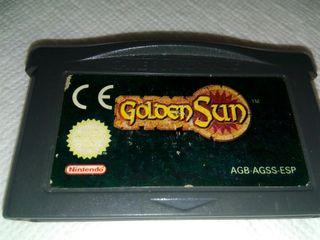 Golden Sun GBA Game boy advance