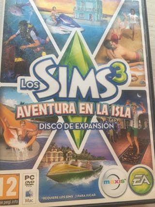 Sims 3 Expansión Aventura en La Isla