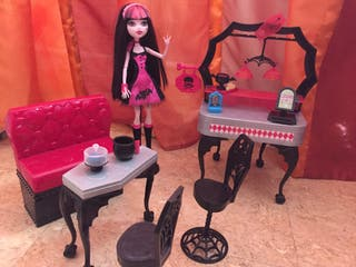 Poupée Monster High Draculaura+ ensemble cuisine