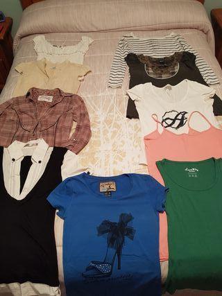 lote de ropa tallas S/XS