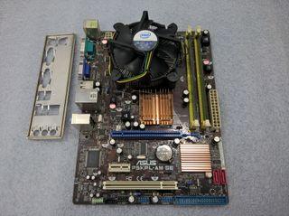 PACK PLACA ASUS P5KPL-AM SE + CPU + RAM