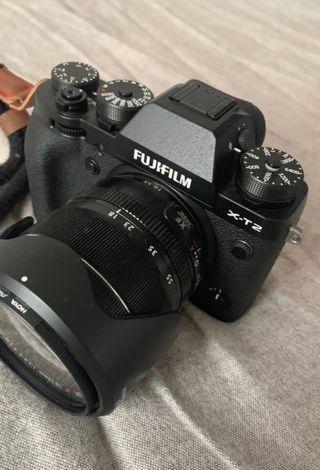 Fujifilm X-T2 - objectif OIS 18-55 mm - noir
