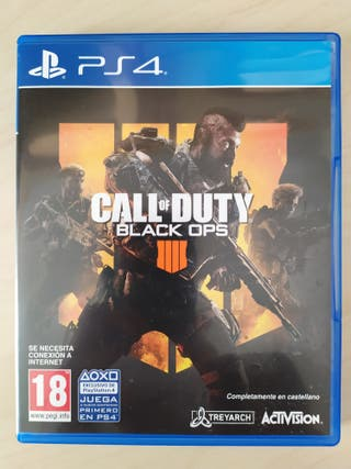 Call of Duty Black Ops 4 Playstation PS4