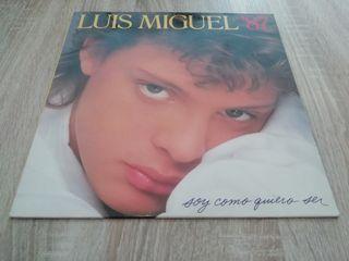 """Luis Miguel - Soy como quiero ser - Lp """"12"""