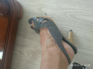 zapatos tacón 8 centímetros
