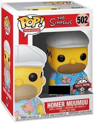 Funko Pop Homer Muumuu. The Simpsons 502