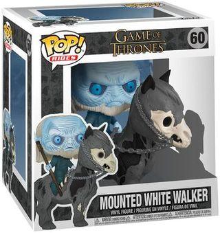 Funko Pop Mounted White Walker 60.Juego de tronos