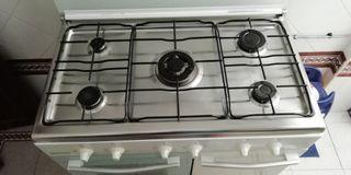 cocina con horno gas butano