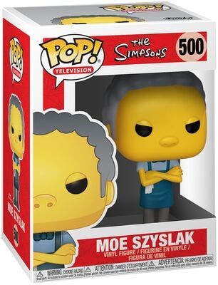 Funko Pop Moe Szyslak 500 The simpsons