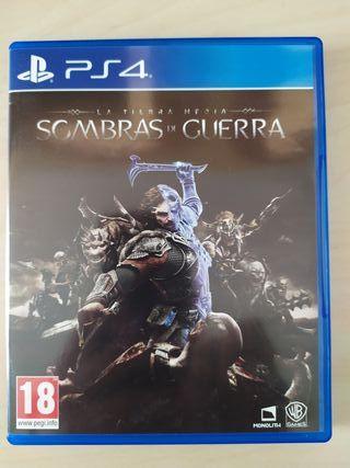 Sombras de Guerra Playstation PS4
