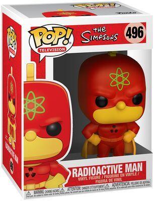 Funko Pop Radioactive Man 496. The simpsons
