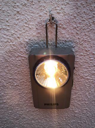Linterna antigua PHILIPS, de petaca.