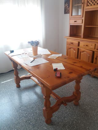 Mesa comedor madera de segunda mano en WALLAPOP