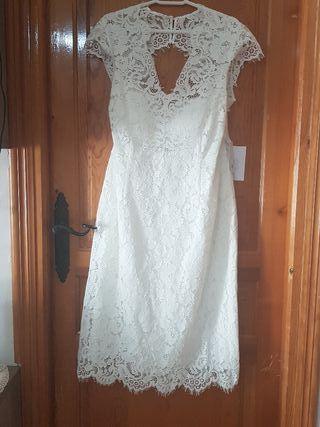 vestido para boda civil