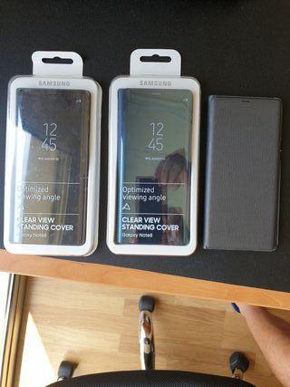 3 fundas originales de Samsung galaxy note 8